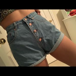 Forever 21 high wasted Denim shorts